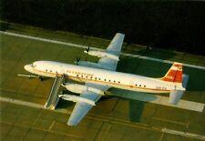 Ansichtskarte: Iljuschin IL-18 der Interflug, DDR-Oldtimer