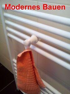 Handtuchknopf Handtuchhalter für Badheizkörper Handtuchwärmer Handtuchheizkörper
