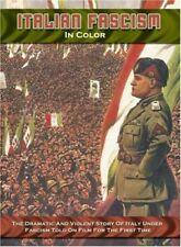 Italian Fascism in Color 0016351099594 DVD Region 1
