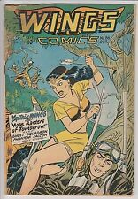 Wings Comics #86 VG-