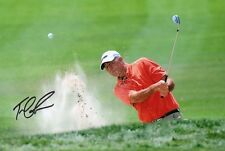 "signed Tom Lehman British Open Winner 12""x8"" photo (COA) Ryder Cup Masters"