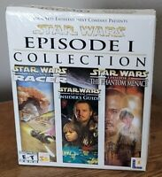 Brand New Sealed Box Star Wars Episode I 1 Collection LucasArts PC Game