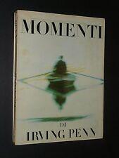 IRVING PENN - MOMENTI - 1960 EDITORIALE DOMUS - RARO PHOTOBOOK - PRIMA EDIZIONE