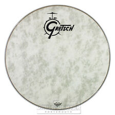 Gretsch Bass Drum Head Fiberskyn 22 With Logo