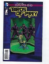 Birds of Prey # 1 Future's End 3D Lenticular Cover NM DC