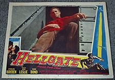 HELLGATE original 1952 lobby card STERLING HAYDEN 11x14 movie poster