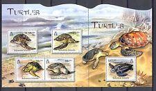 SOLOMON ISLANDS  1 SHEET   ** MNH  VF  -TURTLE TORTUE TORTOISE-  @81