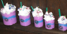 Unicorn cloud snow slime frappe with coffee charm starbucks frappuccino⭐️⭐️⭐⭐️⭐️