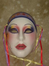 CLAY ART CERAMIC MASK...STAR GAZER...EXTREMELY RARE!