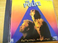 POLICE ZENYATTA MONDATTA  CD MINT- AAD