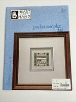 Heart In Hand Needleart - Pocket Sampler Dad Cross Stitch Pattern with Charm