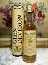 WHISKY OLD GLEN DEVERON 5 YEARS OLD + Box Highland  Scotch Wisky 5 years old MAC