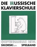 Die russische Klavierschule - Spielbuch