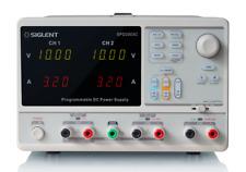 Siglent SPD3303C Programmierbares Labornetzteil 2x 0-32V/-3A + 1x Fest USB SW