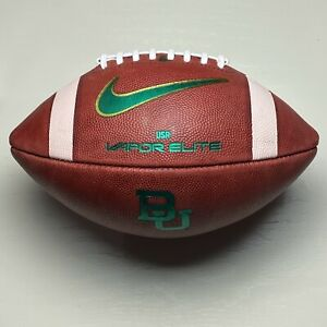 Baylor Bears Nike Vapor Elite Game Ball from the 2020 Season - University Big 12