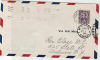montreal canada 1928 stamps cover ref 13191
