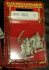 Warhammer dark elf elves corsairs new oop in blister 3 total left