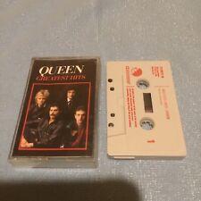 Queen Cassette Greatest Hits Freddie Mercury Rare