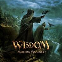 WISDOM - MARCHING FOR LIBERTY (LIMITED DIGIPACK)  CD 12 TRACKS  HEAVY METAL NEU