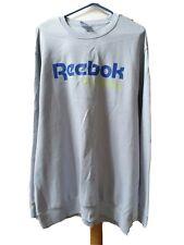 Reebok Unisex Plus Size Sweatshirt Size 2XL