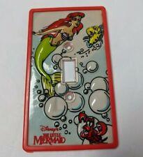 The Little Mermaid Light Switch Cover Disney Original Vintage Ariel Mermaid