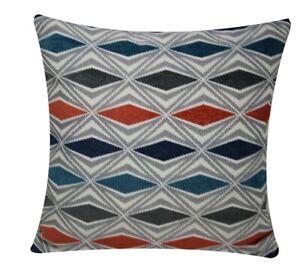 Abstract Plush Geometric Print Square 18 x 18 Cushion Covers Pillowcase for Sofa