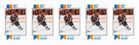 (5) 1993 SCD #12 Brett Hull Hockey Card Lot St. Louis Blues