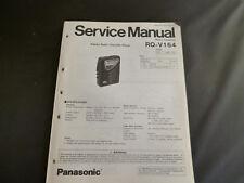 Original Service Manual Panasonic RQ-V164