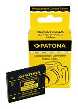 Batteria Patona 680mAh li-ion per Panasonic Lumix DMC-FP5,DMC-FP7,DMC-FS16