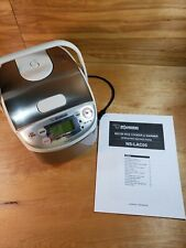 ZOJIRUSHI NS-LAC05 3 Cup Rice Cooker Micom Fuzzy Logic
