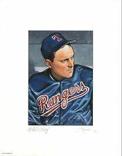 1990 Bowman Original Craig Pursley Signed Artists Proof #8 Nolan Ryan Rangers
