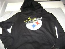 PITTSBURGH  STEELERS  HOODIE  BOY OR GIRL  SIZE  4 / 5 X -SMALL  NEW  NFL