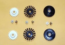 2 set brush/plastic/rubber wheel knitting machine 4.5mm