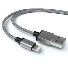 3m USB Lightning 8 Pin Ladekabel Datenkabel Apple iPhone iPad iPod – SPACEGRAU