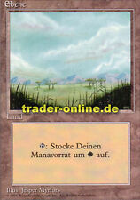 Ebene 1/3 (Plains) Magic limited black bordered german beta fbb foreign deutsch