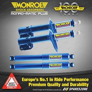Front Rear Monroe Monro-Matic Plus Shock Absorbers for Subaru Impreza III GE GH