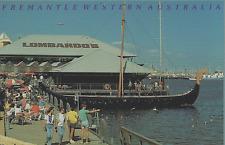 Old Postcard: FREMANTLE FISHING BOAT HARBOUR , Western  Australia.