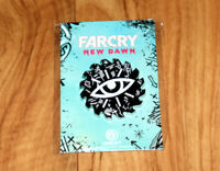 Far Cry New Dawn Rare Promo Pin / Badge Xbox One PS4 Saw Blade Ubisoft