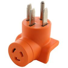50 Amp NEMA 14-50P to 20 Amp NEMA L6-20R 250V Outlet Adapter by AC WORKS®