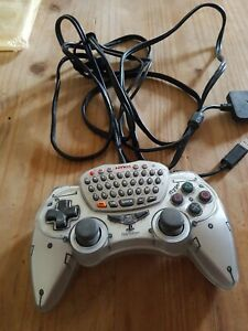 Sony PlayStation 2 PS2 NYKO iType Analog Controller Control Pad Keyboard Gaming