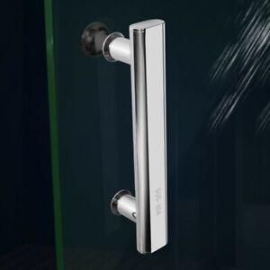 220mm Chrome Shower Door Handles Brushed Or Knobs For Shower Cabinet Enclosures