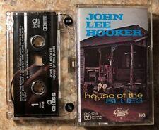 """John Lee Hooker """"House Of The Blues"""" Tape / Cassette VG++"""