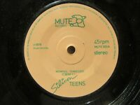 SILICON TEENS Memphis Tennessee-Lets Dance Mute003z 1979