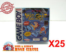 25x NINTENDO GAME BOY CLEAR PROTECTIVE BOX PROTECTOR SLEEVE CASE -FREE SHIPPING!