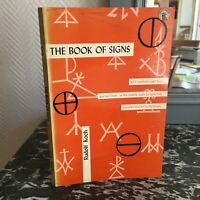 THE BOOK OF SIGNS by Rudolf KOCH Dover Publications 2° ed. 1955