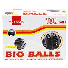 """Bio Ball XL 100 pcs 1.65"""" Aquarium Filter Pond Media Refugium Wet Dry Marine"""