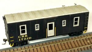 HO Scale, Custom Kit-Bashed Clinchfield RR Work Train Stores & Engineering Car