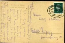 410221) Bahnpost Mannheim-Würzburg 1929, AK DR