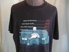 "2002 Simpsons Fox T-Shirt Homer ""Priceless"" Graphic"