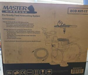 Master Airbrush Kit with 6 Ft Hose and Air Compressor (Missing Gun)